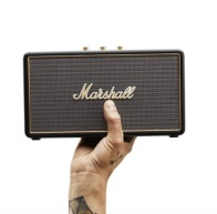 Marshall stockwell bluetooth speaker with case